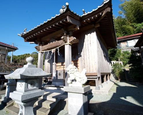 姫宮神社の外観