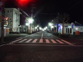 LED化された街灯